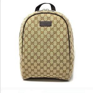 Gucci MICRO GG Guccissima Canvas Rucksack Backpack